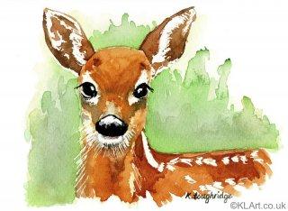 © KLArt.co.uk Aristocratic red Deer