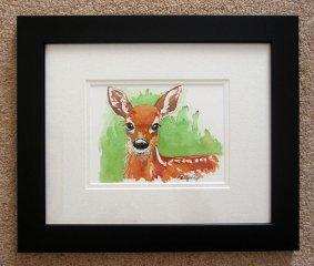 © KLArt.co.uk - Aristocratic Red Deer Original