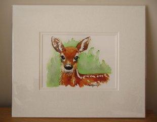 © KLArt.co.uk - Aristocratic Red Deer Print