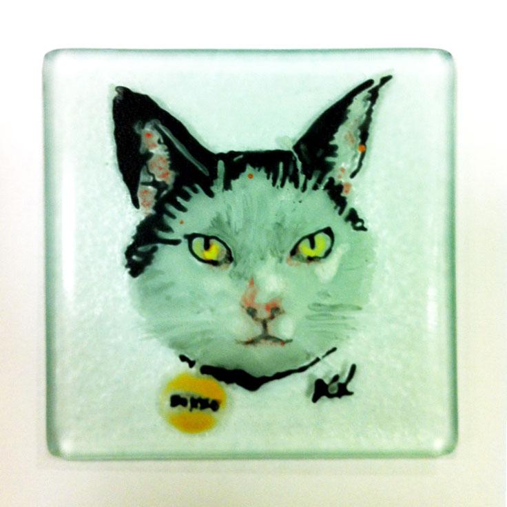 © KLArt.co.uk Bonzo Glass Portrait