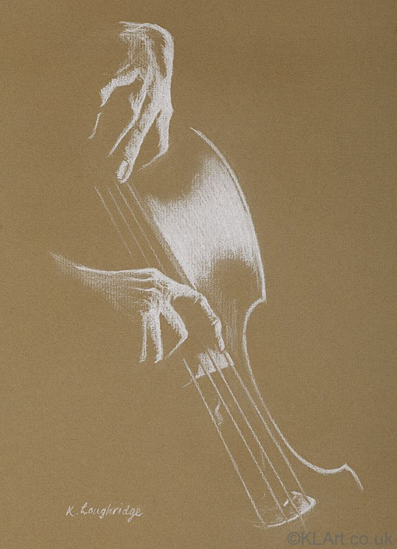 © KLArt.co.uk  Study in the Bass Clef - Cello