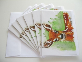 © KLArt.co.uk - Aristocratic Red Deer Cards