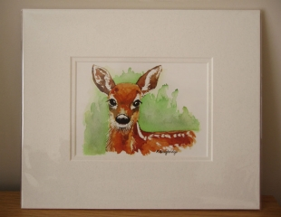 © KLArt.co.uk - Aristocratic Red Deer Print