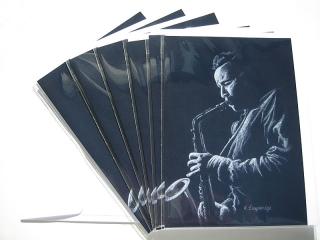 © KLArt.co.uk - Blue Sax Cards