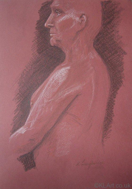 © KLArt.co.uk  Male Nude Standing III