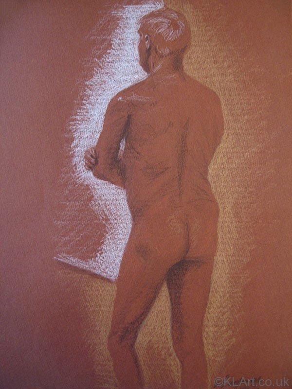 © KLArt.co.uk Male Nude Standing II