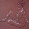 © KLArt.co.uk Female Nude Seated IV