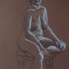 © KLArt.co.uk Female Nude Seated I
