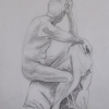 © KLArt.co.uk Male Nude Seated I