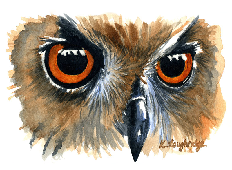 © KLArt.co.uk Owl