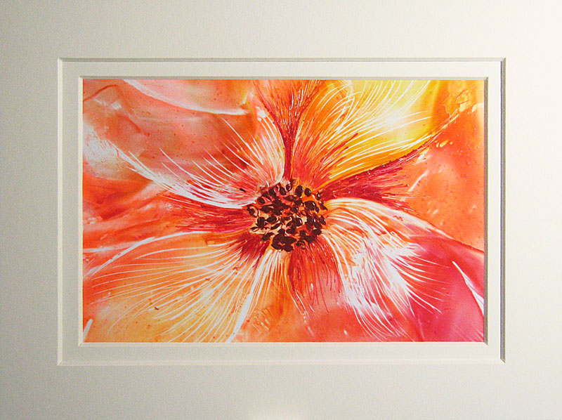 © KLArt.co.uk Encaustic Flower