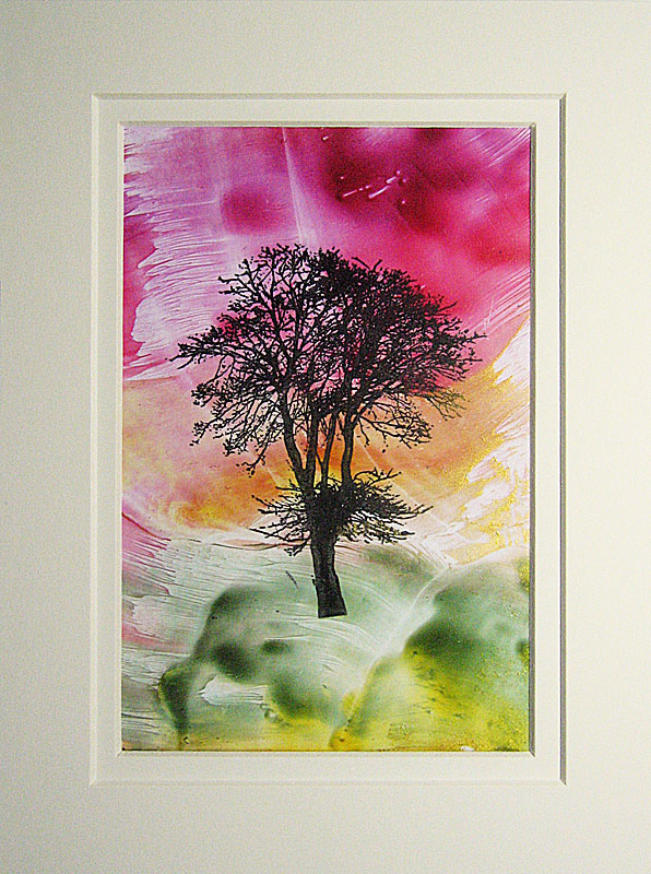 © KLArt.co.uk Encaustic Tree