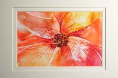 © KLArt.co.uk Encaustic Flower