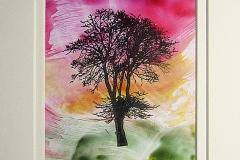 © KLArt.co.uk Encaustic Tree