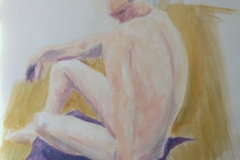 © KLArt.co.uk Male Nude Seated III