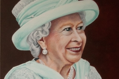 © KLArt.co.uk Queen Portrait