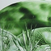 """Green Landscape"" abstract image"