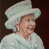 Portrait of HRH Queen Elizabeth II