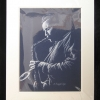 Image of Blue Sax Print